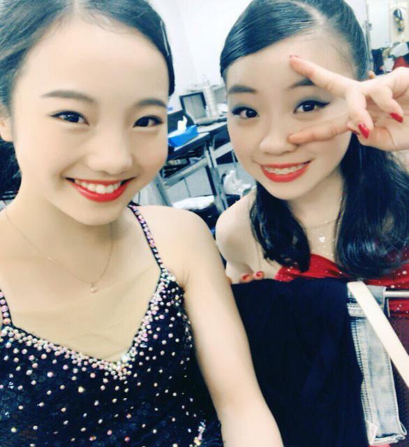 紀平梨花と本田真凜 画像