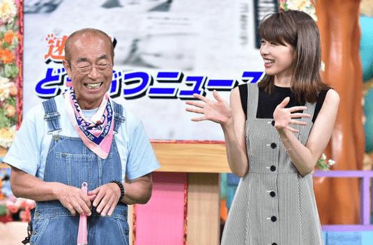 加藤綾子 志村けん