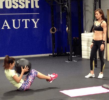 仲村アン トレーニング方法